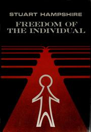 Cover of: Freedom of the individual