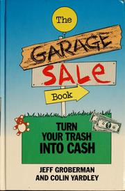 Cover of: The Garage Sale Book