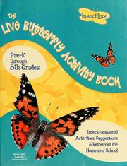 Cover of: Live butterfly activity book | Robert Drake