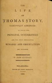 Cover of: The life of Thomas Story | Thomas Story