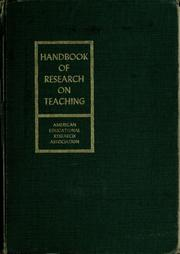 Handbook of research on teaching by N. L. Gage