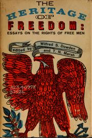 Cover of: The heritage of freedom