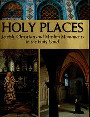 Cover of: Holy places