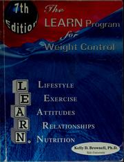 Cover of: The LEARN program for weight control