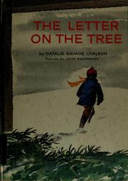 Cover of: The Letter on the Tree | Natalie Savage Carlson