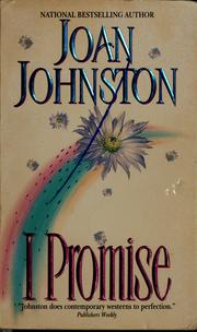 Cover of: I promise by Joan Johnston