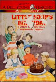 Cover of: Little Soup's birthday