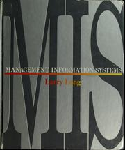 Cover of: Management information systems