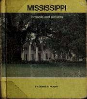 Cover of: Mississippi in words and pictures