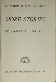 Cover of: More stories