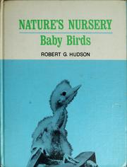 Cover of: Nature's nursery | Robert G. Hudson