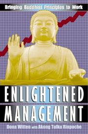 Cover of: Enlightened management