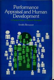 Cover of: Performance appraisal and human development | Howard P. Smith