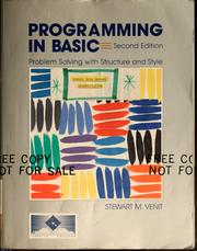 Cover of: Programming in BASIC