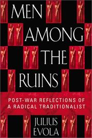 Cover of: Men Among the Ruins: Post-War Reflections of a Radical Traditionalist