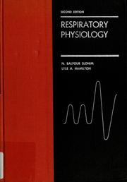 Cover of: Respiratory physiology | N. Balfour Slonim