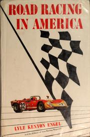 Cover of: Road racing in America
