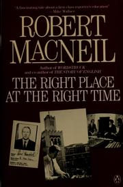 Cover of: The right place at the right time