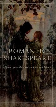 Cover of: Romantic Shakespeare |