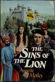 Cover of: The Sins of the Lion