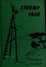 Cover of: Stormy year