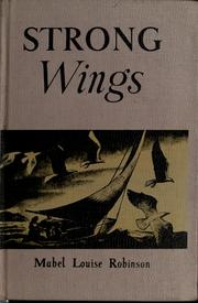 Cover of: Strong wings