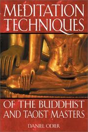 Cover of: Meditation techniques of the Buddhist and Taoist masters