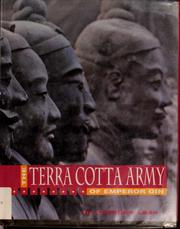 Cover of: The terra cotta army of Emperor Qin