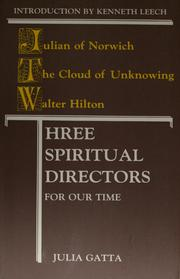 Cover of: Three spiritual directors for our time