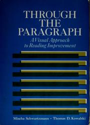 Cover of: Through the paragraph