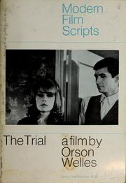 Cover of: The trial | Orson Welles
