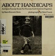 Cover of: About Handicaps