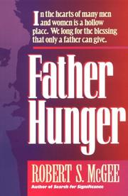 Cover of: Father hunger