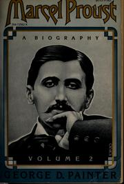 Cover of: Marcel Proust: a biography
