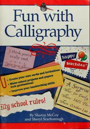 Cover of: Fun with calligraphy