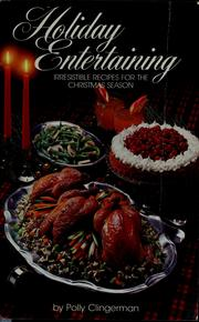 Cover of: Holiday entertaining