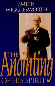 Cover of: The anointing of his Spirit
