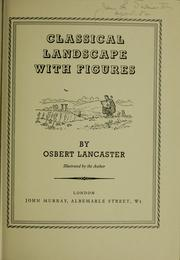 Cover of: Classical landscape with figures