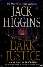 Cover of: Dark justice | Jack Higgins