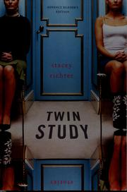 Cover of: Twin study