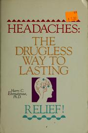 Cover of: Headaches