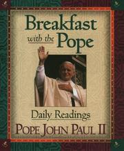 Cover of: Breakfast with the Pope: daily readings
