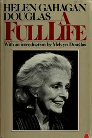 Cover of: A full life