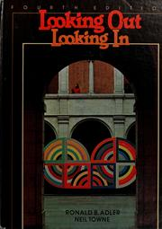Looking out/looking in by Ronald B. Adler