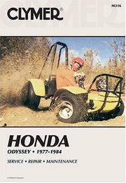 Cover of: Honda Odyssey, 1977-1983 | Ed Scott