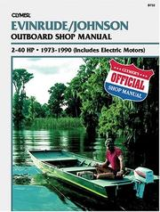 Cover of: Evinrude Johnson Outboard Shop Manual | Randy Stephens