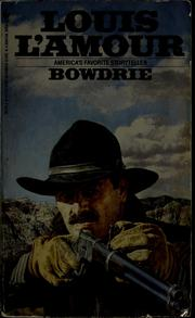 Cover of: BOWDRIE | Louis L