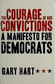 Cover of: The courage of our convictions