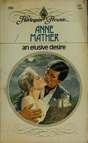 Cover of: An Elusive Desire | Anne Mather