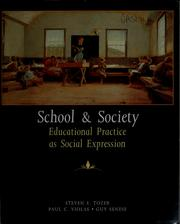 Cover of: School and society | Steven Tozer